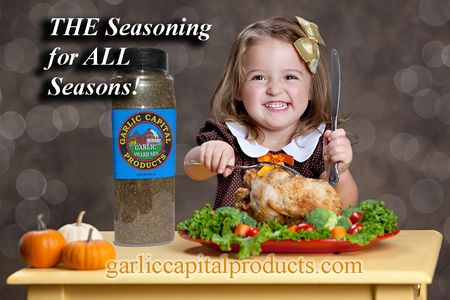 The go to garlic seasoning blend for all your holiday recipes. Garlic Award Mix and more are availab
