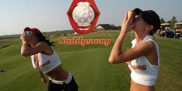 Caddyswag guide politically incorrect golf tournament shotgun girls golf cooler party