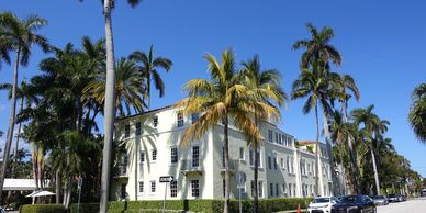 JetsetPrivate Air recommended hotels in Palm Beach. Brazilian Court Hotel.  Places to stay.