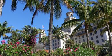 JetsetPrivate Air recommended hotels in Palm Beach. The Breakers Resort.  Places to stay Palm Beach.