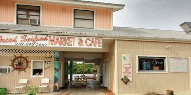 Triad Seafood & Market, Everglades City, FL, charter flights