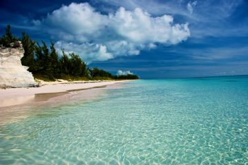 Round trip charter flights to North Eleuthera from Miami, beach in North Eleuthera JetsetPrivate Air