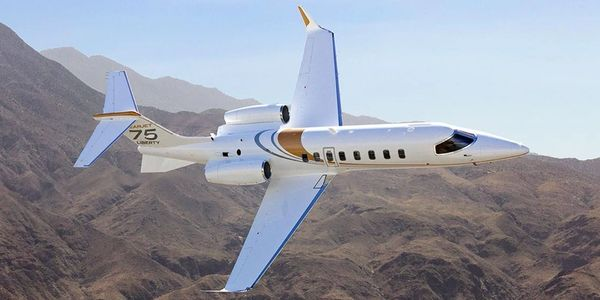 LearJet 75 Liberty, charter flights, private jet charter