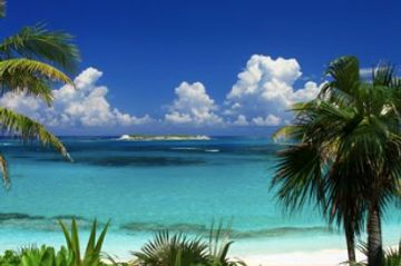 Charter flights to Governor's Harbour Airport, beach, Bahamas, from Miami, Fort Lauderdale, PBI