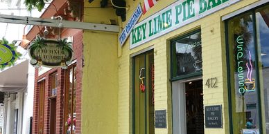 Key West Pie Bakery, Key West, FL. Charter flights