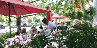 JetsetPrivate Air recommended restaurants in Palm Beach. Sant Ambroeus.  Places to eat  Palm Beach.