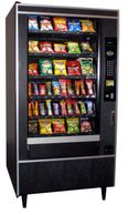 Crane National 167 Snack Machine Used Vending Machines For Sale