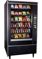 Crane National 147 Snack Vending Machine