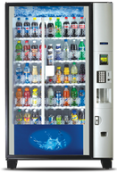 Dixie Narco 5800 Glass Front Vending Machine cheapvendingmachines.com