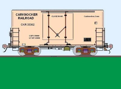 Microsoft paint drawing of A box car