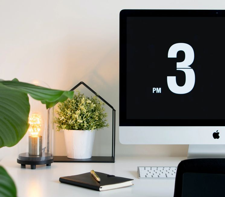 the number 3 on a computer screen