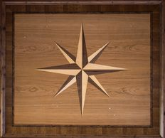 marquetry panel