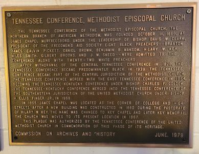 Tennessee Conference, Methodist Episcopal Church  The Tennessee Conference of the Methodist Episcopa