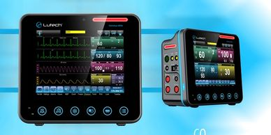 Datalys 805 multiparameter patient monitor or triage spot check monitor.