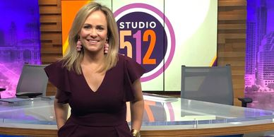 Erica Brennes, founder of Real Mom, Real Tired, appears on Studio 512 to share Super Bowl Snacks