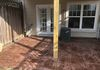 Majestic Ashlar Stamped Patio, Mauve/Guava Base Color with Autumn Brown Antique