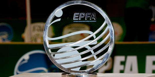 EPFA Nations Cup trophy