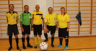 New referees complete training in Finland