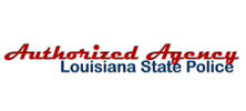 Louisiana State Police Authorized Agency logo