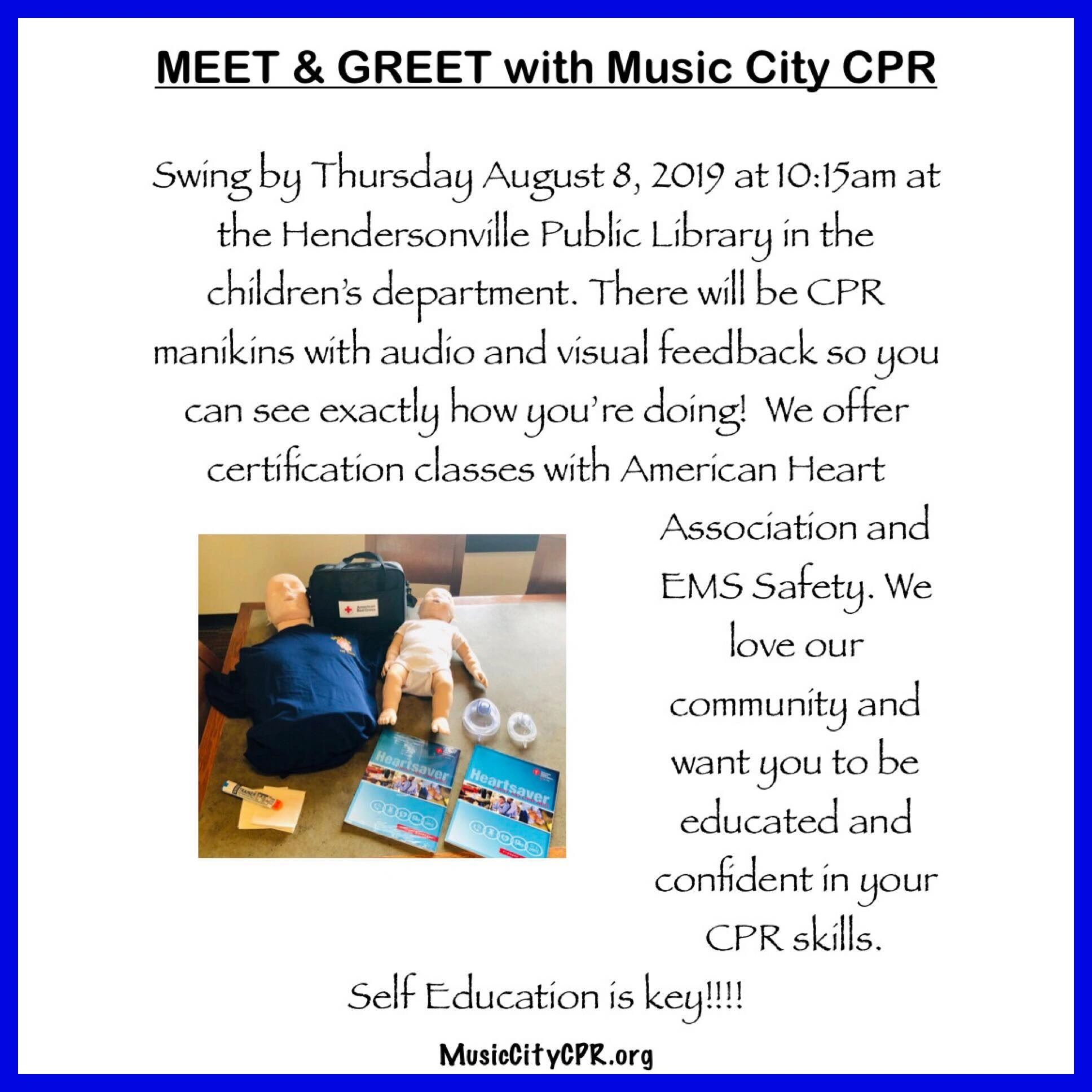 Music City CPR - Cpr - Hendersonville, Tennessee