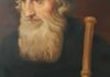 Portrait of John Wycliffe, hanging the Hall of Balliol College.