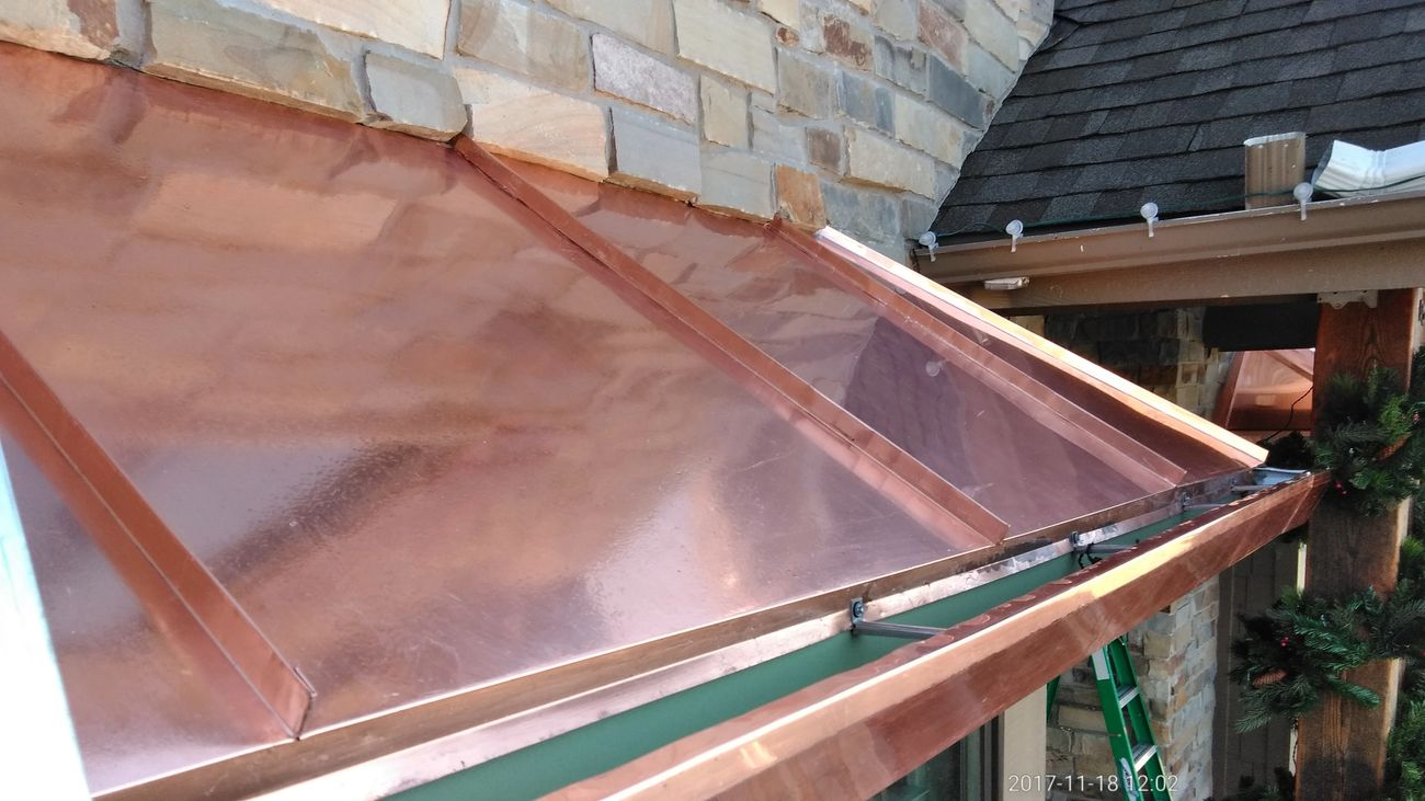 Coppersmithkane Copper Roof Copper Roof Metal Roofing Gutter