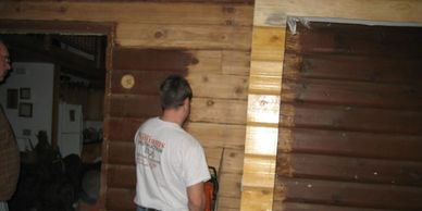 Home remodeling project. Home remodeling contractor in Adams, WI