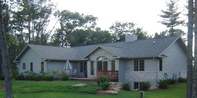 Custom built homes, new construction homes in Adams, WI. Adams construction services offered.
