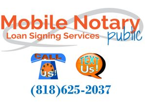 Mobile Notary Public & Loan Signing Services