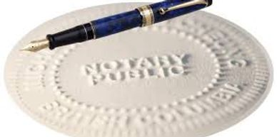 Full Notary Services!