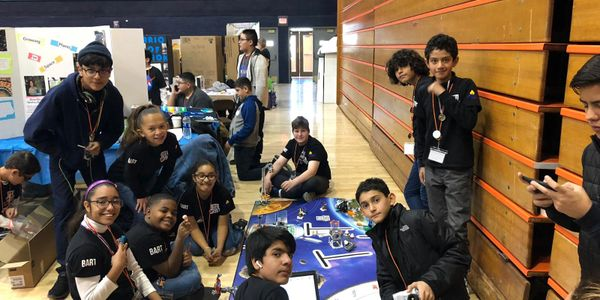 Our robotics team ranked 8th in a field of 60 schools at UTEP 's First Lego Competition