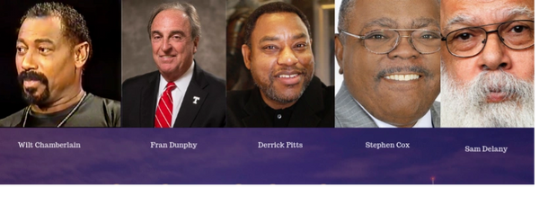 2019 Philadelphia Legacies Portrait Award Winners: Wilt Chamberlain, Fran Dunphy, Sam Delaney...