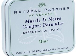 Natural Patches of Vermont Mint Muscle & Nerve Formula