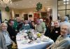 Magnolia by the Lakes residents having a great night at the  Irish themed dinner party