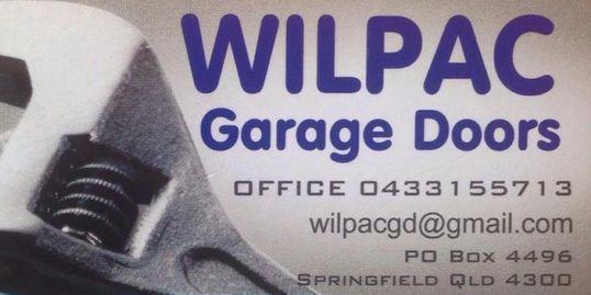 Garage Door Repair Wilpac Capalaba Garage Doors