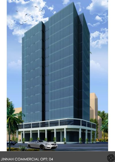 Commercial building in Bahria Town Karachi, on Jinnah Avenue or Midway Commercial; Halal Tijarat!.