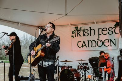 Colleen and Michael at Camden Irishfest.