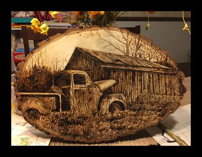 Rustic Pyrography