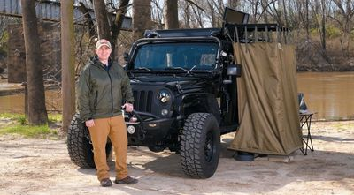 Stacey Buckner and her Off-Road Outreach Jeep