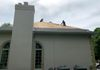 Project J - During installing a new GAF Designer Series:Camelot / Royal Slate Roof in Cornwall, NY.