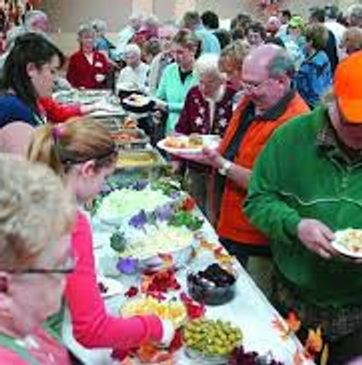 Annual free will Thanksgiving meal at the Owatonna VFW