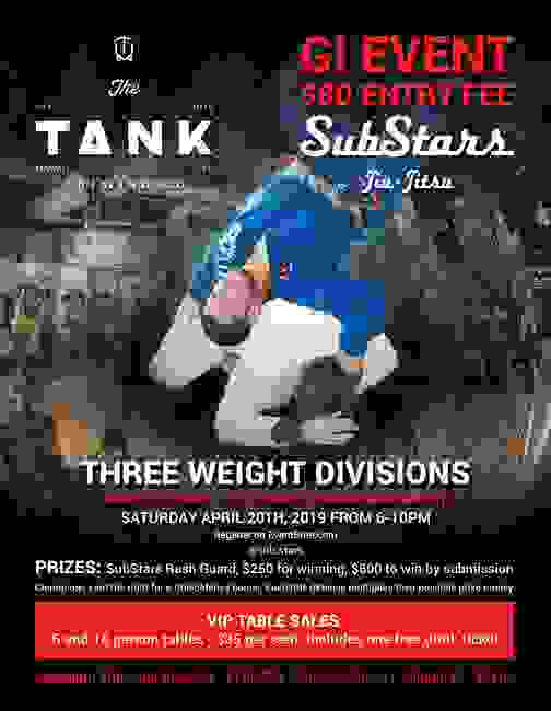 SubStars Gi Event at The Tank Brewery