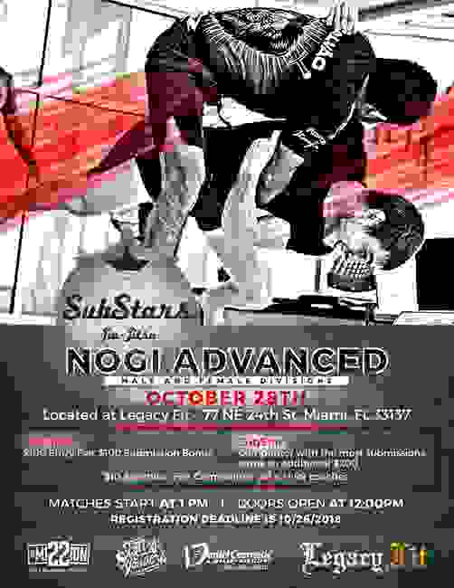 SubStars Nogi Advanced hosted by Legacy Fit