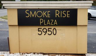Smoke Rise monument sign refurbished