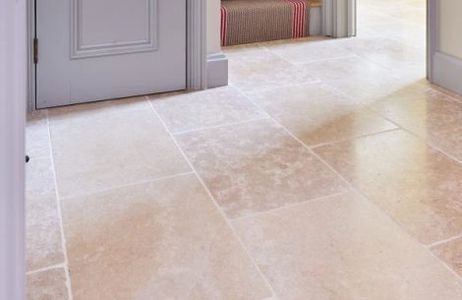 Natural Stone Flagstone Limestone Floor Tiles Bergamot Calcot