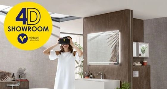 4D Showroom Virtual Worlds Tile & Bathroom Designs