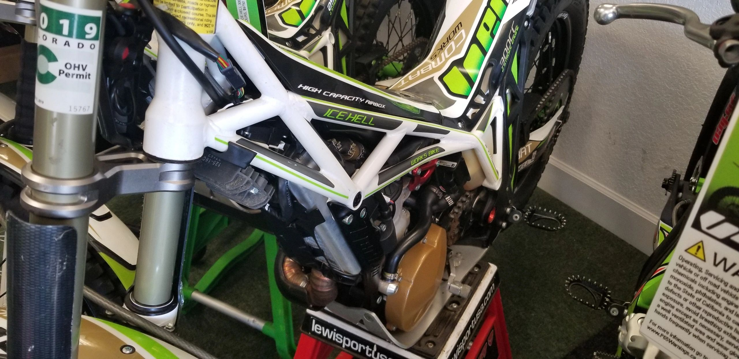 "{""blocks"":[{""key"":""471bs"",""text"":""2017 300 FI Vertigo  \""ICE HELL\""-- VERY low hours --\""Consignment bike\"" very clean bike ready to compete--$7250"",""type"":""unstyled"",""depth"":0,""inlineStyleRanges"":[],""entityRanges"":[],""data"":{}},{""key"":""c6pne"",""text"":""call shop for more details. 209-785-6878"",""type"":""unstyled"",""depth"":0,""inlineStyleRanges"":[],""entityRanges"":[],""data"":{}}],""entityMap"":{}}"