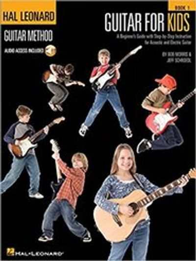Guitar lessons for kids, ages 8-12