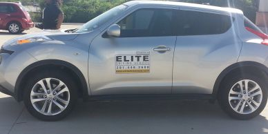 Elite Driving School Teen drivers ed instruction vehicles. Teens learn to drive in this vehicle.
