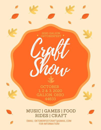craft show, craft, festival, family fun, galion ohio, food, fair food, rides, concert, free